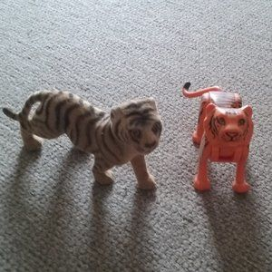 Vintage Tigers - Orange/Black Moves + Flocked Tan